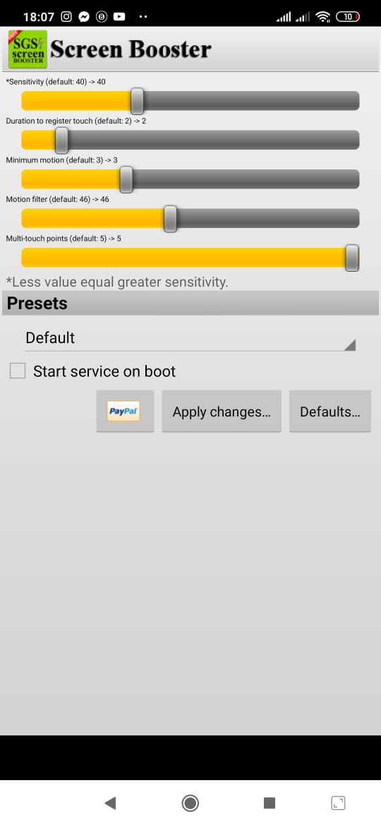 SGS Touchscreen Booster - Download