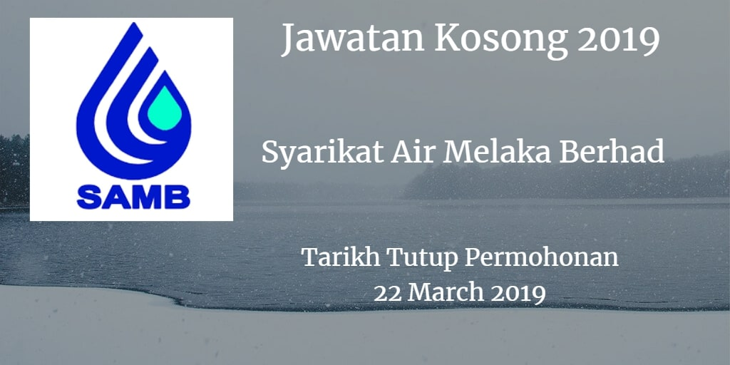 Jawatan Kosong SAMB 22 March 2019
