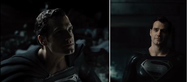 zack snyder justice league black suit superman henry cavill