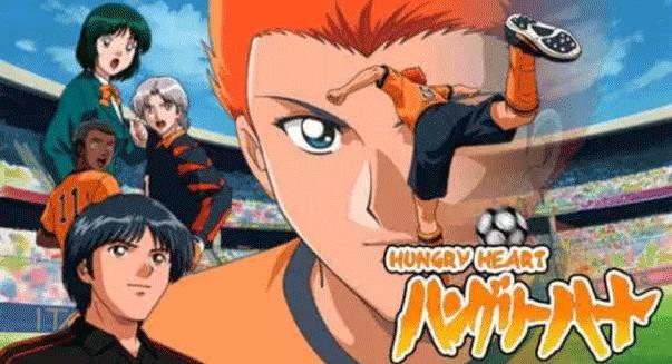 Hungry Heart: Wild Striker - Daftar Anime Sport terbaik Sepanjang Masa