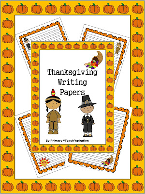Free Thanksgiving Writing Papers