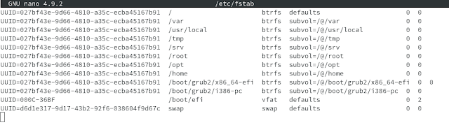Auto Monting NTFS di Linux