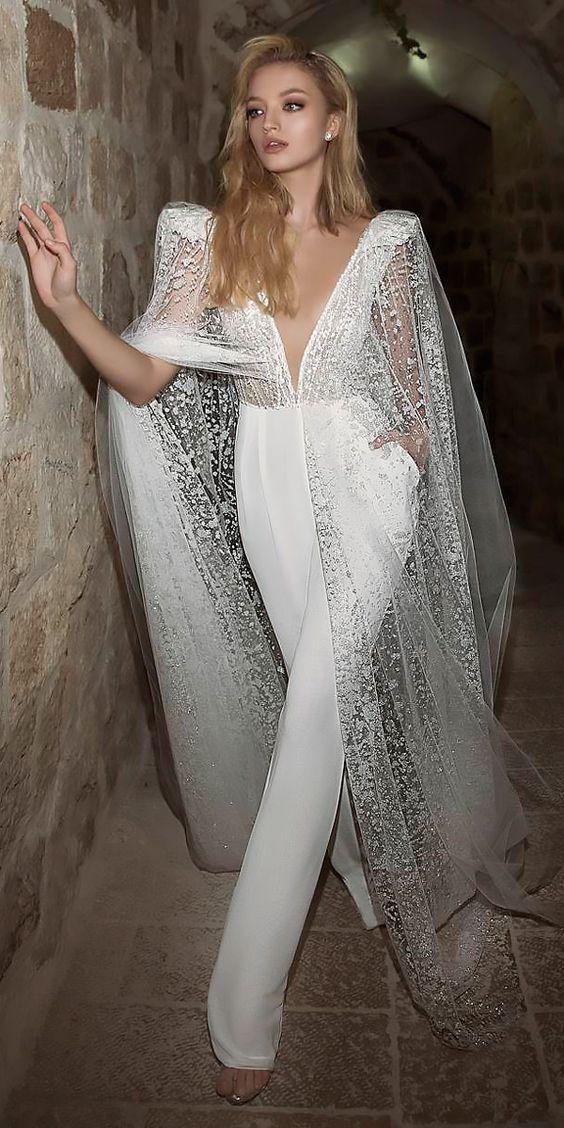 Lace and Satin Combination – Gorgeous Satin Jumpsuit Image 3