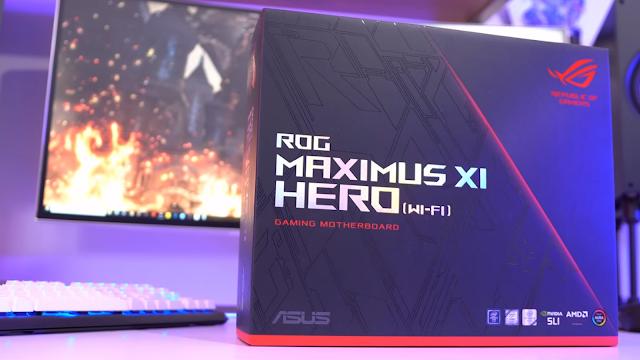 rog maximus motherboard