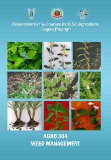 Weed Management ICAR E course Free PDF Book Download e krishi shiksha