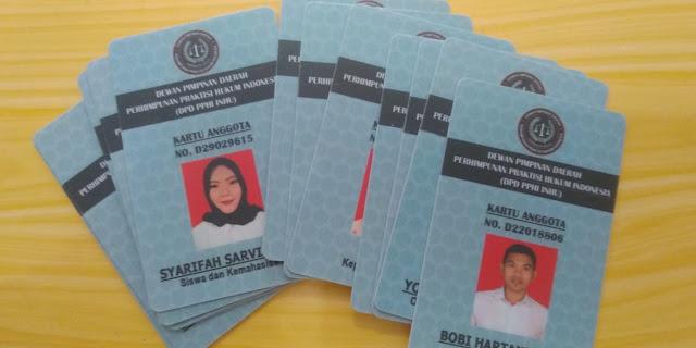 Kartu Anggota DPD PPHI INHU