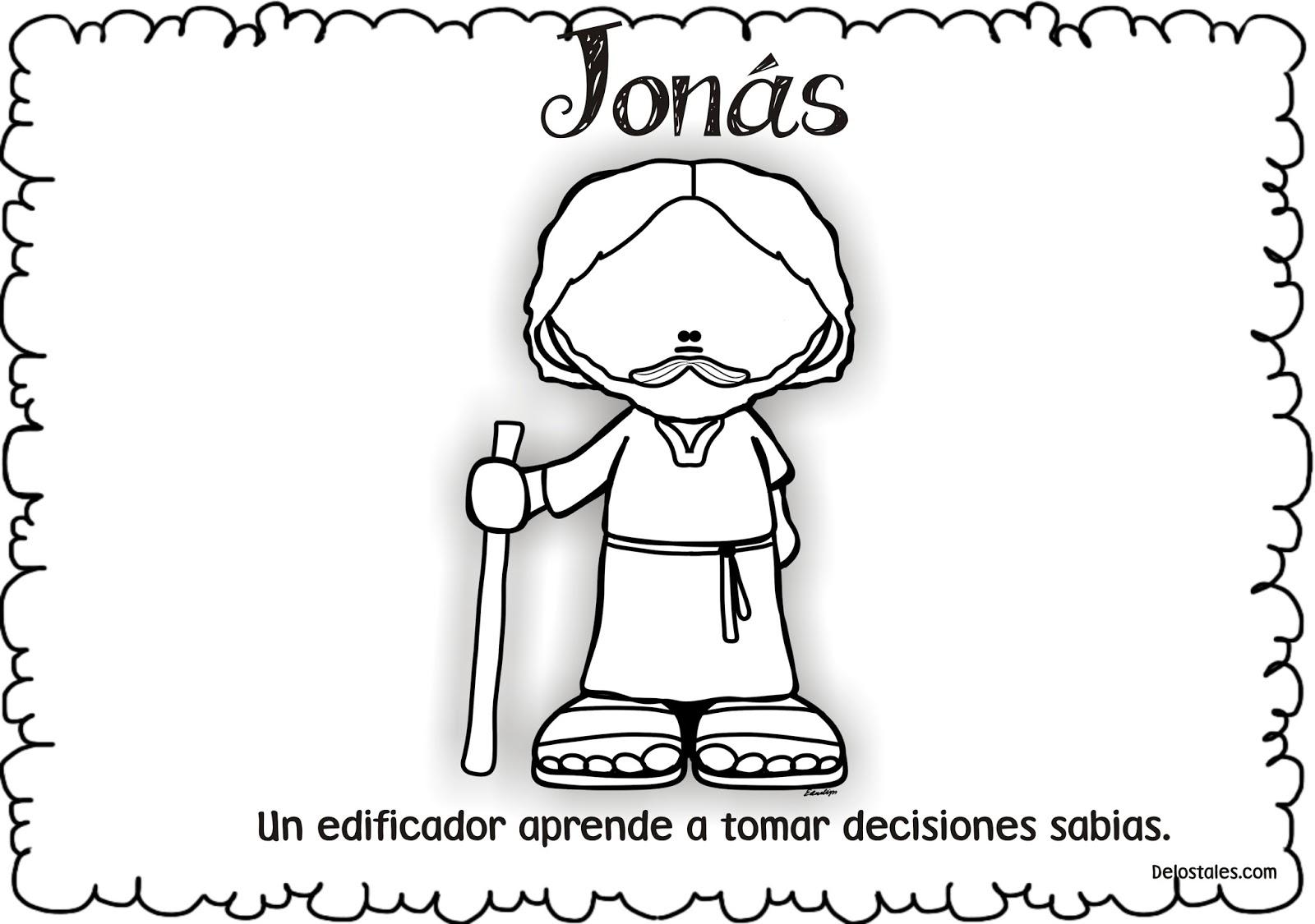Lujo Jonah Y La Ballena Para Colorear Imprimibles Molde - Ideas Para ...