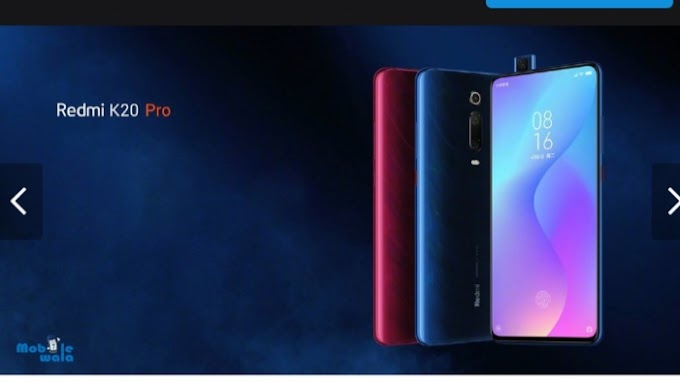 Redmi K20 pop-up launches with selfie camera; company info given