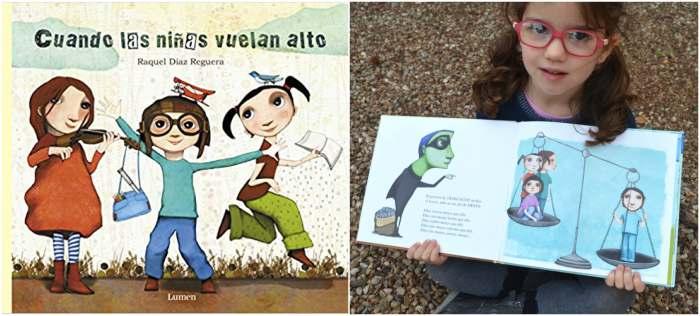 cuentos libros infantiles potenciar, fomentar sana alta autoestima cuando las niñas vuelan alto raquel diaz reguera