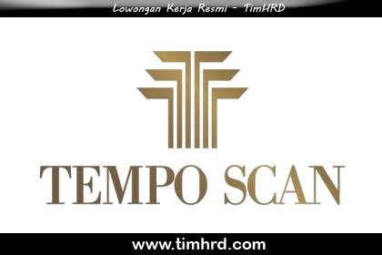 Lowongan Kerja Resmi Tempo Scan Group