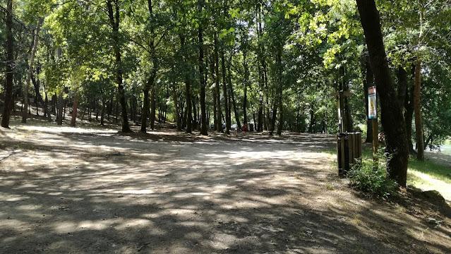 Zona do parque de Lazer de Cavadinho