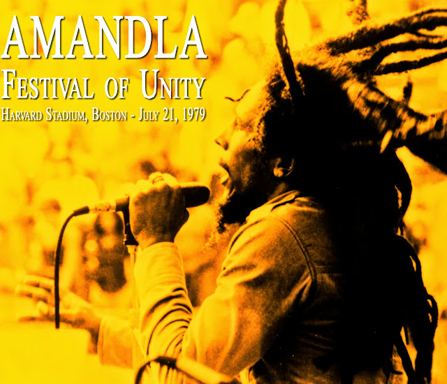 Music Television presents Bob Marley, filmed live in concert in 1979 at the Amandla Music Festival