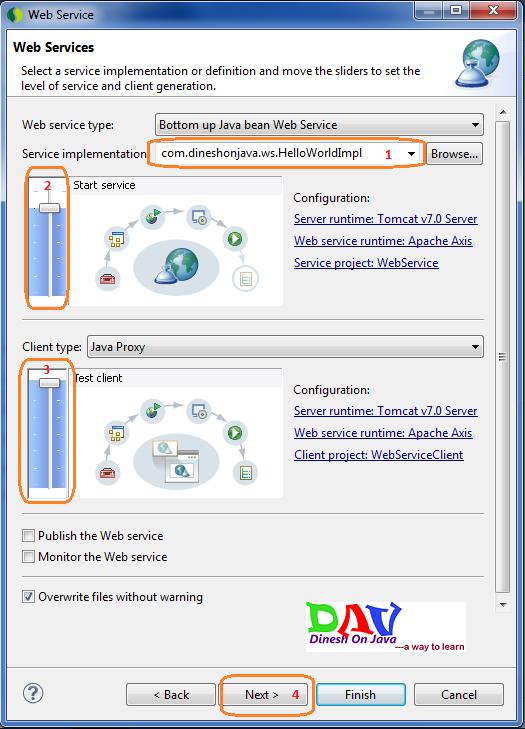 JAX-WS Web Service