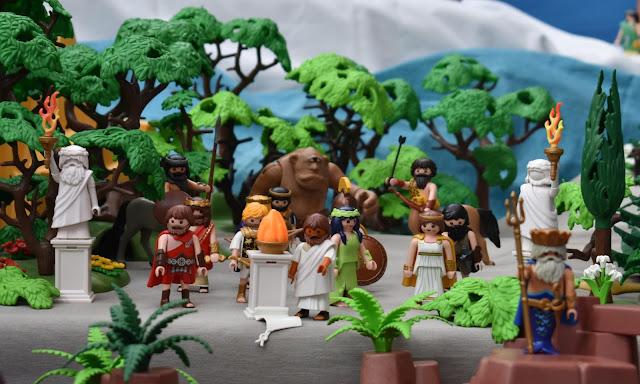 PLAYMOBIL DIORAMA ODYSSEY GREEK MYTHOLOGY