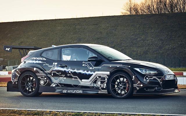 Hyundai RM20e Veloster elétrico 2021