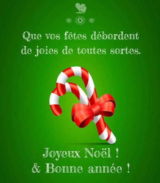 Sublime carte de souhait de Joyeux Noël et bonne année
