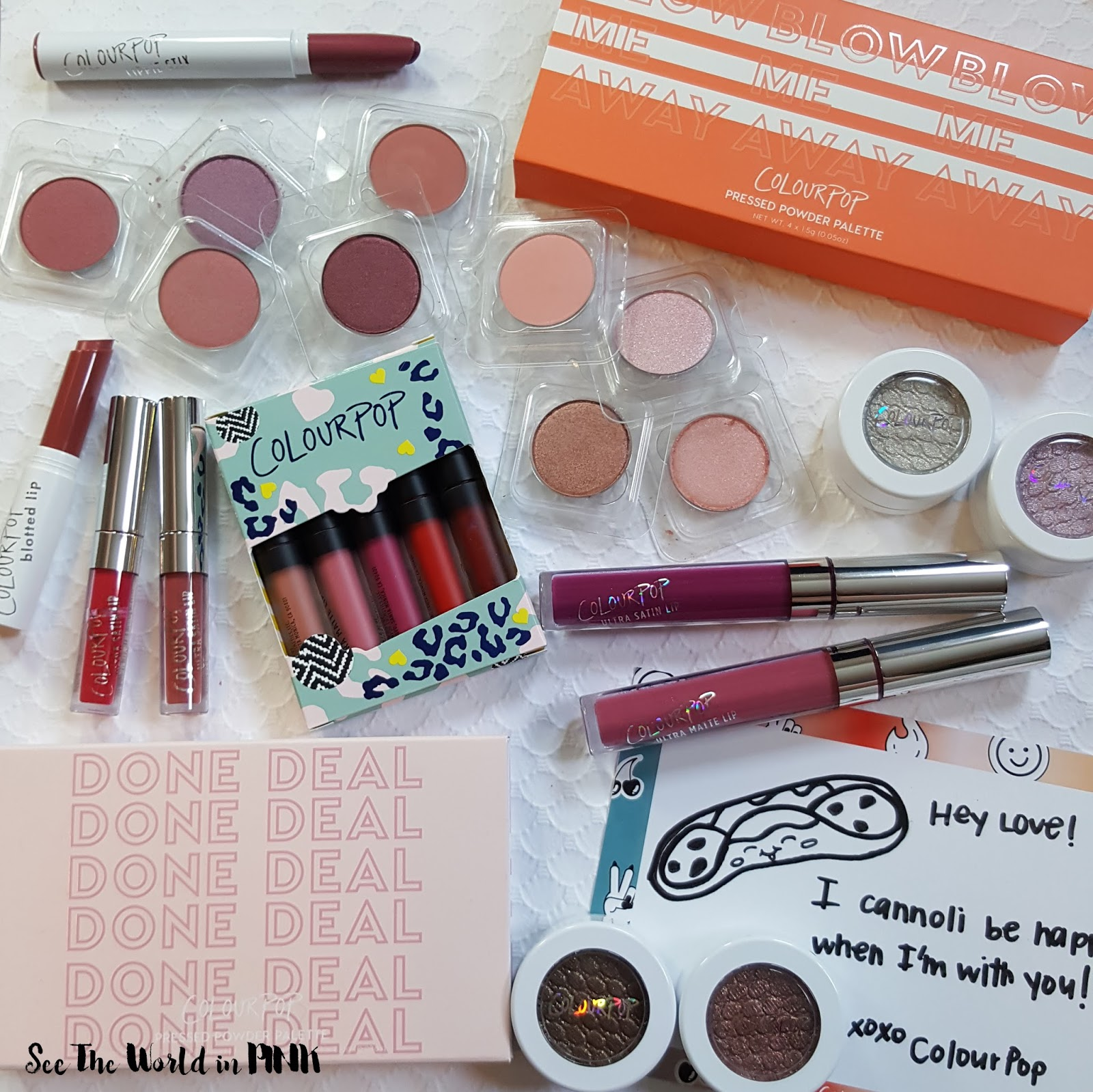 Huge ColourPop Haul & Swatches!