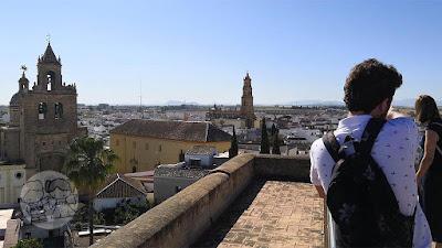 Vistas desde el Castillo de Utrera.