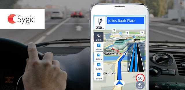 تحميل تطبيق GPS Navigation & Maps Sygic Full