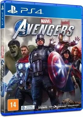 Jogo Marvel Avengers [PS4]