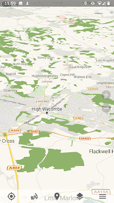 trekarta map gnss gps glonass