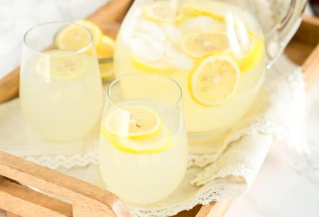 Homemade Lemonade #summer #drinks