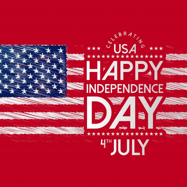 Symbol für die Feiern zum Independence Day in den USA!