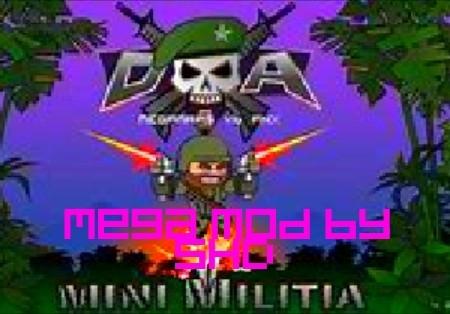 Mini Militian Pro-Mini militia mod by shd