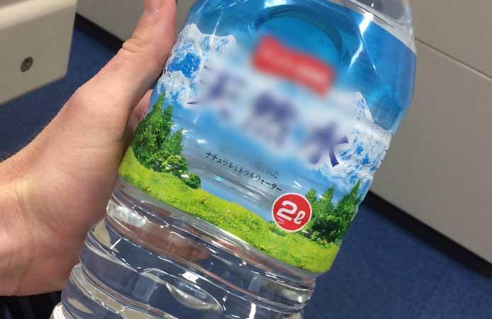 air mineral 2 liter jepang