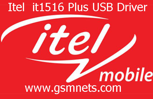 Itel 1516 Plus USB Driver Download