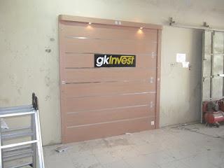 Desain Interior Semarang - Backdrop Dinding Kantor dengan Huruf Timbul MDF - Knockdown System