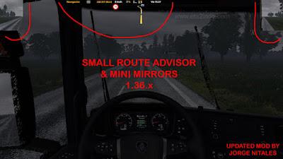 Small Route Advisor & Mini Mirrors