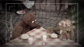 Baby bear, curly bear, Sesame Street Episode 4412 Gotcha season 44