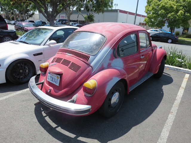 1974 Volkswagen Beetle before getting complete car paint job at Almost-Everything Auto Body