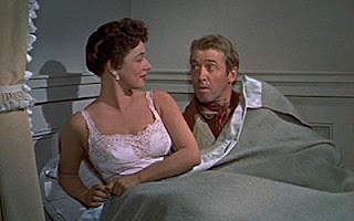 The Far Country - James Stewart and Ruth Roman