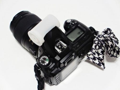 fotografías, flash, difusor, truco, casero, diys