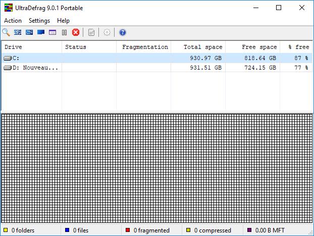 تحميل برنامج إلغاء التجزئة UltraDefrag 9.0.1 Enterprise  Standard  نسخة كاملة