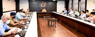 मुख्यमंत्री योगी ने 'ट्रेस, टेस्ट एण्ड ट्रीट' की नीति के अनुरूप कोविड-19 से बचाव और उपचार की व्यवस्थाओं को प्रभावी ढंग से जारी रखने के निर्देश दिए Chief Minister Yogi instructed to effectively continue the arrangements for prevention and treatment of covid-19 as per the policy of 'Trace, Test and Treat'. Hindi News
