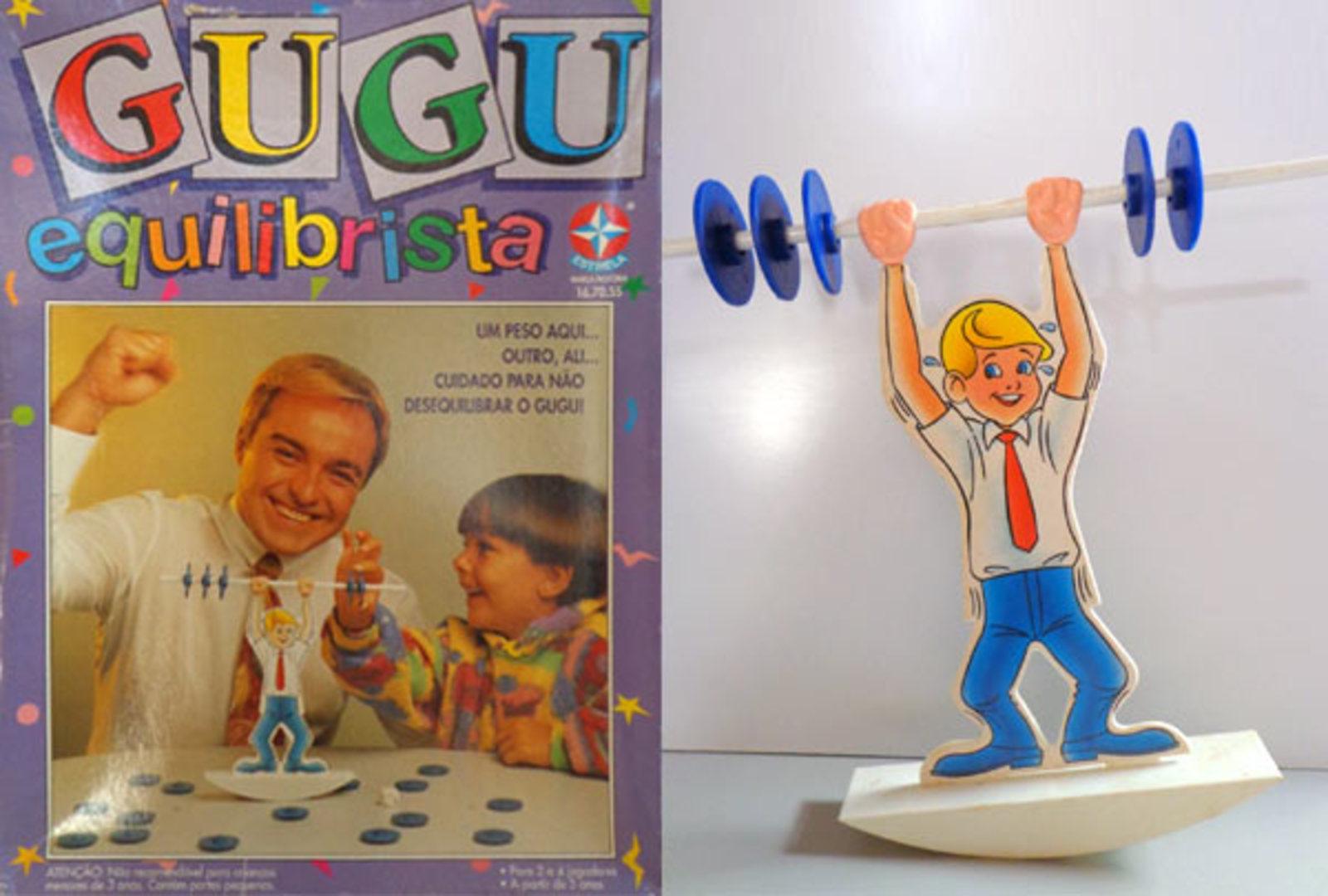 Brinquedo Gugu Equilibrista