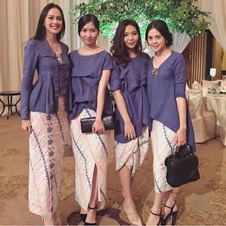 Inspirasi Kebaya Modern Batik Indonesia