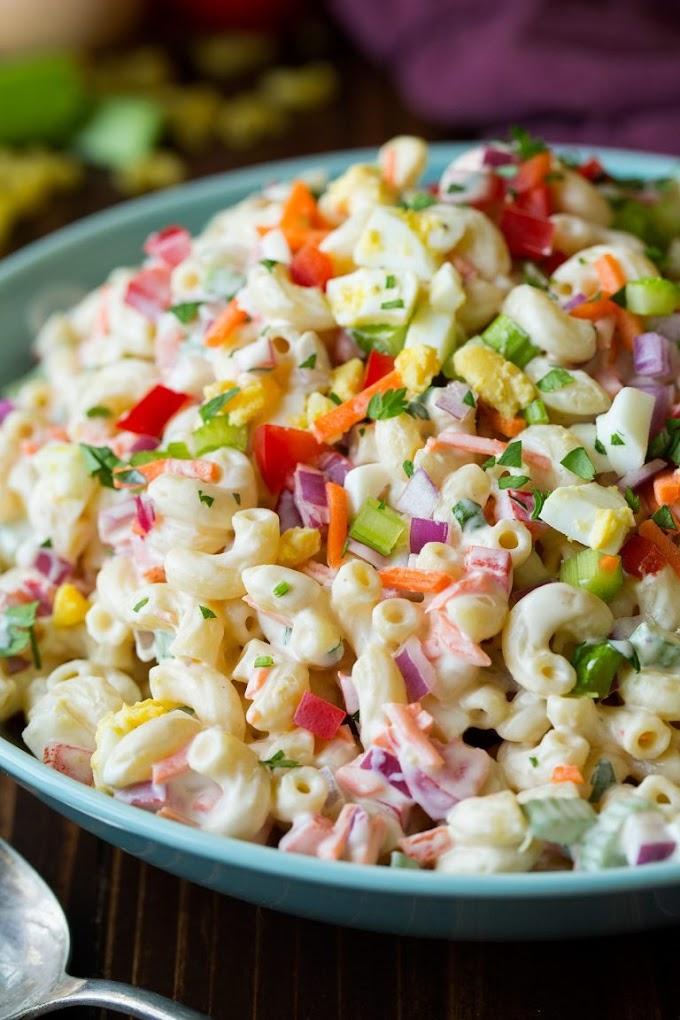 ★★★★★ |   Classic Macaroni Salad
