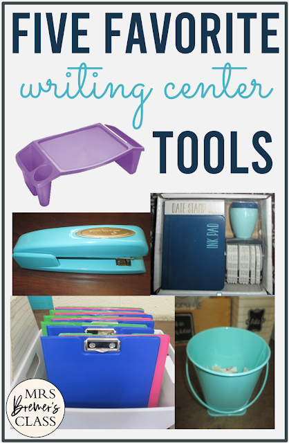 Favorite writing center tools for the classroom