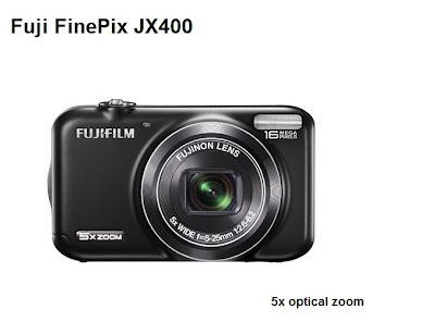 Fuji FinePix JX400 camera