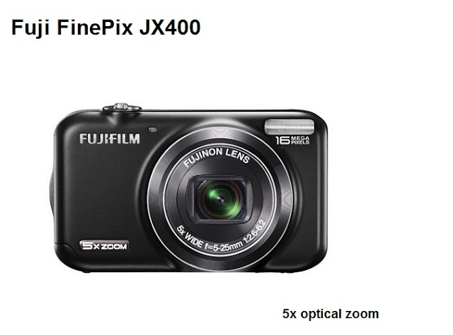 Fuji FinePix JX400 camera review