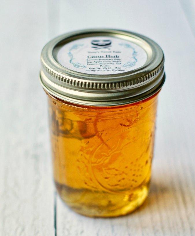 Apple citrus jelly