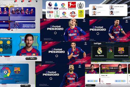 FC BARCELONA PATCH PES 2020 MOBILE BY IDSPHONE V4.6.0 (OBB+CPK)