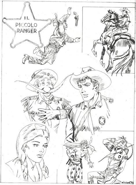 wilson vieira fumetti  il piccolo ranger