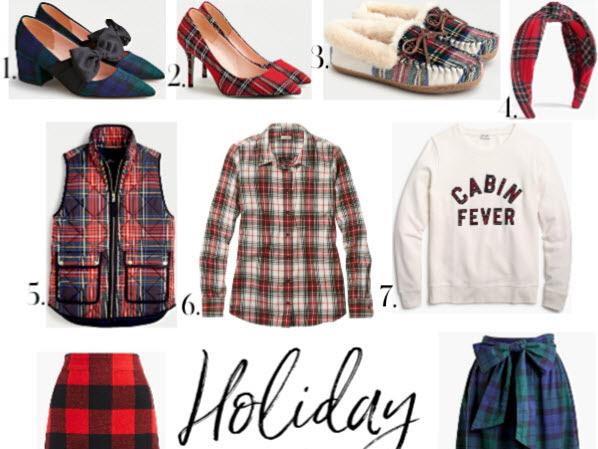 Trend Spotlight: Holiday Plaid