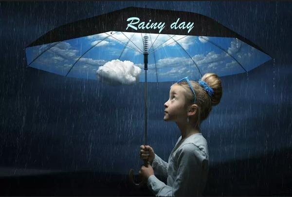 Kick Day Rain Whatsapp Status DP