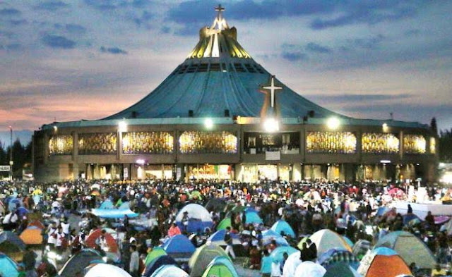 La Basílica de Guadalupe recibe 9.8 millones de visitantes: Protección Civil